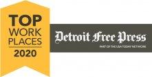 Detroit Free Press - Top Workplaces 2020